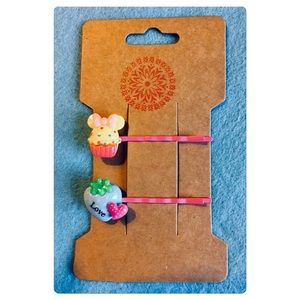 Kawaii Sweets Hair Pins Set
